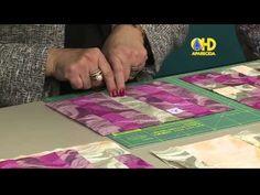 Patchwork na Tv com Ana Cosentino: Colcha de solteiro em patchwork (Vida com Arte 27/05/15) - YouTube