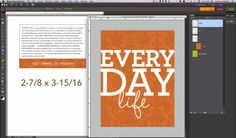 printing project life journaling cards from home printer on cardstock