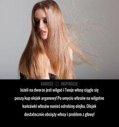Jak sprawić, aby włosy przestały się puszyć?