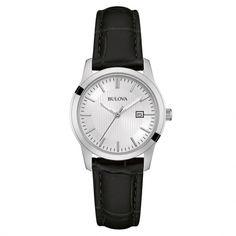 Reloj Bulova Analógico de cuarzo en negro Modelo 96M129