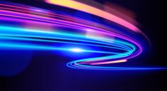 Abstract light trail in background Premi. Free Background Photos, Luxury Background, Futuristic Background, Gold Background, Geometric Background, Neon Backgrounds, Neon Design, Light Trails, Glitch Art