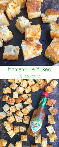 Homemade Baked Crout
