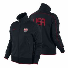 I love track jackets and well I kind of love the U.S. women's soccer team too.