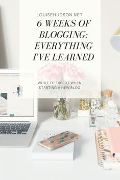 Six Weeks of Blogging: Everything I've Learned