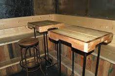Resultado de imagen para muebles hechas con palets de madera