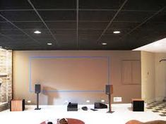 Image result for painted drop ceiling tiles