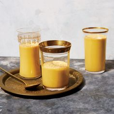 This best-ever Spiced Pumpkin Lassi recipe gets flavor from squash, star anise, cinnamon and yogurt. Get the recipe from Food & Wine.