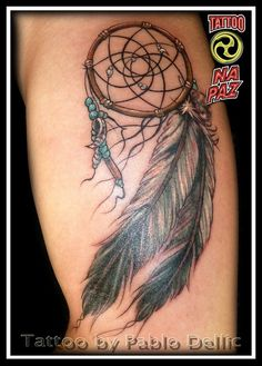 Dream catcher #tattoo patterns| http://wonderfultatoosthelma.blogspot.com