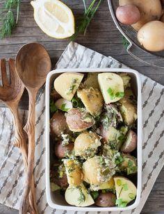 Recipe: Potato Salad with Lemon Tahini & Dill Dressing — Recipes from The Kitchn | The Kitchn