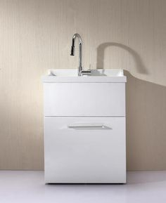 Yani All In One Utility Sink With Pull Out Faucet Included (Similar To Sink