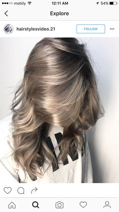 10 Balayage Ombre lange Frisuren von subtil bis atemberaubend - # Check more at. 10 Balayage Ombre lange Frisuren von subtil bis atemberaubend - # Check more at Hair Color Dark, Cool Hair Color, Dark Hair, Ash Color, Hair Colour, Hair Color 2018, Level 7 Hair Color, Grey Hair Colors, Hair Goals Color