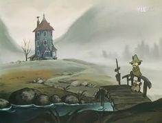 La maison des Moomins et Pipo...