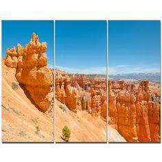 DesignArt 'Beautiful Bryce Canyon' Photographic Print Multi-Piece Image on Canvas