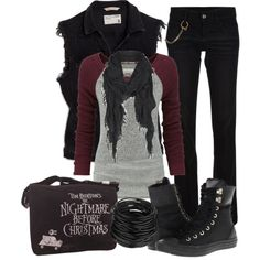 The First Punch, created by bvbzombies98 on Polyvore