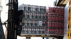 Coca-Cola palettes being loaded to a truck Operational Excellence, Operations Management, Coca Cola, Truck, News, Coke, Trucks, Cola