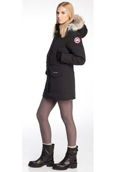 Canada Goose Parka Trillium Femme Noire363