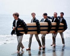 "On March The Beach Boys released the album ""Surfin U."" The song ""Surfin' USA"" is part of the The Rock and Roll Hall of Fame's 500 Songs that Shaped Rock and Roll list. Sound off on your favorite song by The Beach Boys. The Beach Boys, Beach Fun, Brian Wilson, Carl Wilson, Smooth Jazz, Kinds Of Music, Music Is Life, Saga, Mike Love"