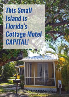 This Small Island is Florida's Cottage Motel Capital! - Beaches Bars and Bungalows Florida Vacation Spots, Places In Florida, Old Florida, Florida Travel, Florida Beaches, Vacation Destinations, Weekend Vacations, Florida Resorts, Pensacola Florida