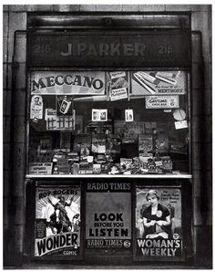 Nigel Henderson April 1917 to 15 May Newsagent, East London, Vintage London, Old London, Vintage Shops, Blitz London, Vintage Ads, Old Pictures, Old Photos, British Shop, East End London