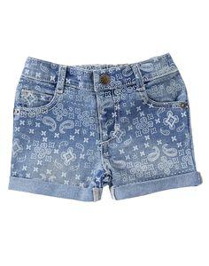 Bandana Print Jean Shorts at Crazy 8