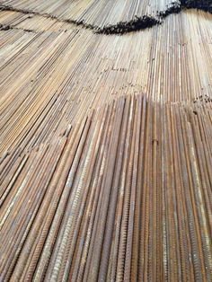 Ai Weiwei - Straight - installation at the venice biennale 2013