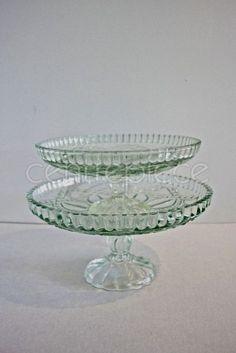 Cake Stand Cut Glass Large Desert Table, Plate Stands, Cake Plates, Cut Glass, Centerpieces, Wedding Decorations, Theme Ideas, Vintage, Center Pieces