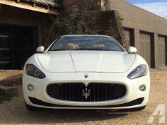 2011 Maserati GranTurismo Convertible  #2017 #supercar