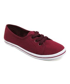 This DELIC8 Burgundy Lure Sneaker by DELIC8 is perfect! #zulilyfinds