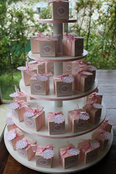 """DIY Cupcake Stand (I'm thinking covered cans for the """"poles"""") But what to use for the base… The post DIY Cupcake stand Tutorial. appeared first on Fashion Ideas – Fashion Trends. Shower Party, Baby Shower Parties, Shower Favors, Bridal Shower, Diy Cupcake Stand, Baby Shower Souvenirs, Baby Shawer, Baby Shower Princess, Baby Birthday"""