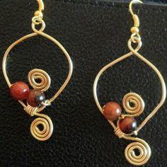 Earrings with a twist