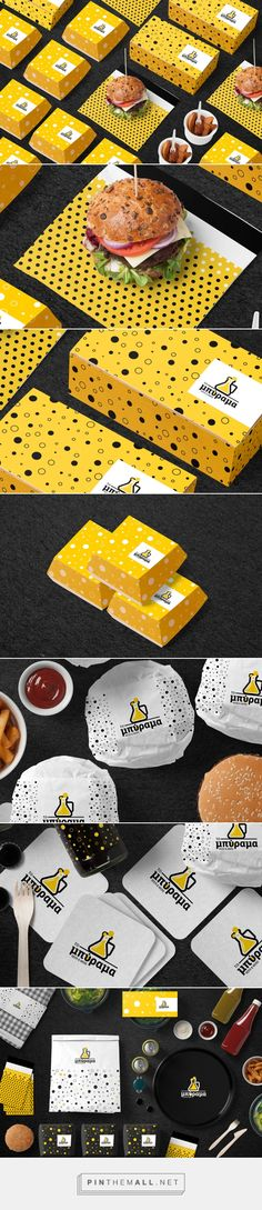 The Exbeeriment on Behance by Mike Karolos Athens, Greece curated by Packaging Diva PD. Creative idea for a bar restaurant packaging and branding.