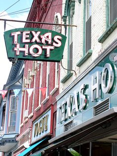 Texas Hot, Wellsville, NY  This was one of my favorite restaurants to go to when I used to live there! :)