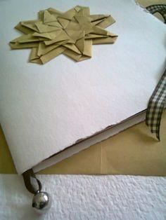 Quaderno rilegato a mano. Decoro mandala.