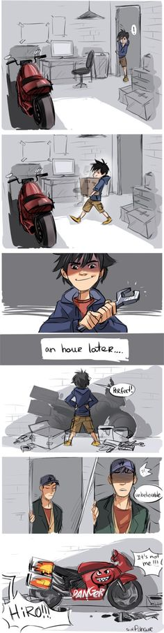 Hiro what on earth have you done?!
