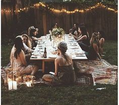 Wine and Lights Bridal Party