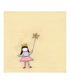 Magic Wand #Print on #zulily today!