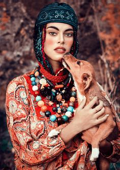 <p>A little bit of NOMAD inspiration with this gorgeous editorial shot by ex-model turned photographer, Elena Iv-skaya who also did an amazing job at styling the stunning model Lisa Pereira. Love everything in this spread! www.ivskaya.com</p>