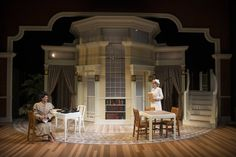 HARVEY. Milwaukee Rep. Set design by Daniel Conway. 2014