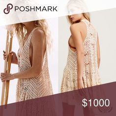 ISO FREE PEOPLE Penny Ruffle Tunic Ivory M/L Anyone have this in a M/L? FREE PEOPLE PENNY RUFFLE TUNIC in crochet ivory. I have the XS / S and looking for the M/L. My torso is very long and I wanted it more oversized than the small. Thank you! Free People Dresses