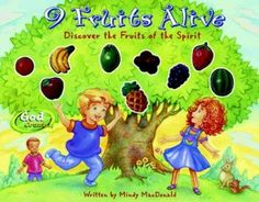 How many kinds of fruit can you think of? Where does it come from and how does it grow? Nine Fruits Alive describes the fruit that comes from Gods Spirit. Little ones will learn that just like water a