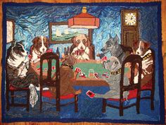 Picking Up the Loops | This iconic image was turned into a rug by Harriett Laird and finished by Penny Ward.