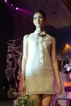 Filipiniana Top and Dress (Kultura), Deb Dresses, Grad Dresses, Elegant Dresses, Boho Dress, Dress Skirt, Lace Dress, Modern Filipiniana Gown, Fashion Wear, Fashion Outfits