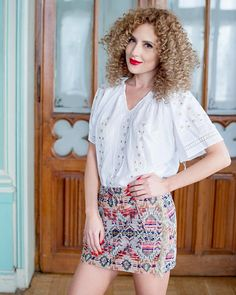 Delicate and ethereal, this exquisite ethnic blouse seduces with the alluring brilliance of natural silk, masterfully embroidered on white cotton fabric. Piece Of Clothing, Clothing Items, Four Leaf Clover, Peasant Blouse, Elegant Outfit, Handmade Clothes, Traditional Outfits, Boho Chic, Ethnic