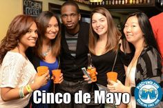 Get you happiness in a cup at this year's Cinco de Mayo PubCrawl. Go to PubCrawls.com for more details!