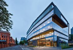 Office Building at Grzybowska Street / Grupa 5 Architekci  Simple bulky but still elegant