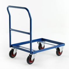 Euro Container Trolley Deco Furniture, Metal Furniture, Furniture Design, Folding Trolley, Mobile Project, Stage Set Design, Diy Garage Storage, Tiny House Plans, Plastic Containers