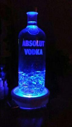 Absolut always a fav! Bottle Lamps, Absolut Vodka, Lamps For Sale, Vodka Bottle, Drinks, Drinking, Beverages, Drink, Beverage