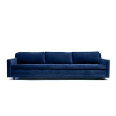 Up Three Seater Deep Blue @Rebecca Mill I want this sofa.