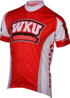 NCAA Mens Western Kentucky Hilltoppers Cycling Jersey Large Red     Want  additional info  22a6ce2e0