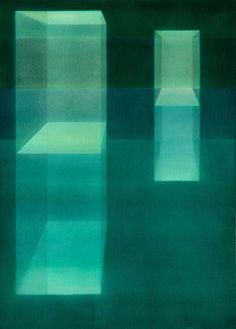 """Suspended in Green"" by Lauretta Vinciarelli"